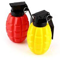 Barbuzzo Combat Condiments Grenade Ketchup Mustard Dispensers