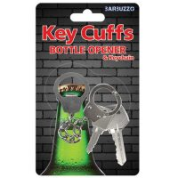 Barbuzzo Key Cuffs Bottle Opener Keychain