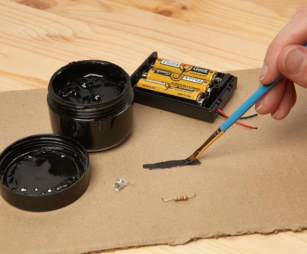 Bare Paint Conductive Paint