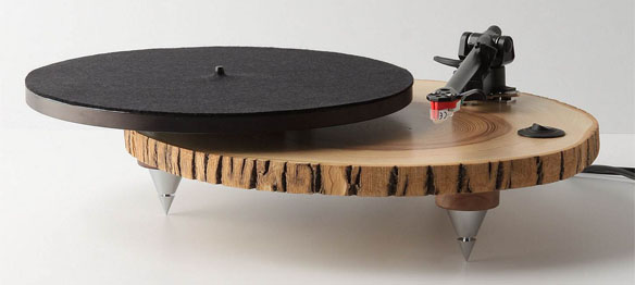Barky Wood Turntable