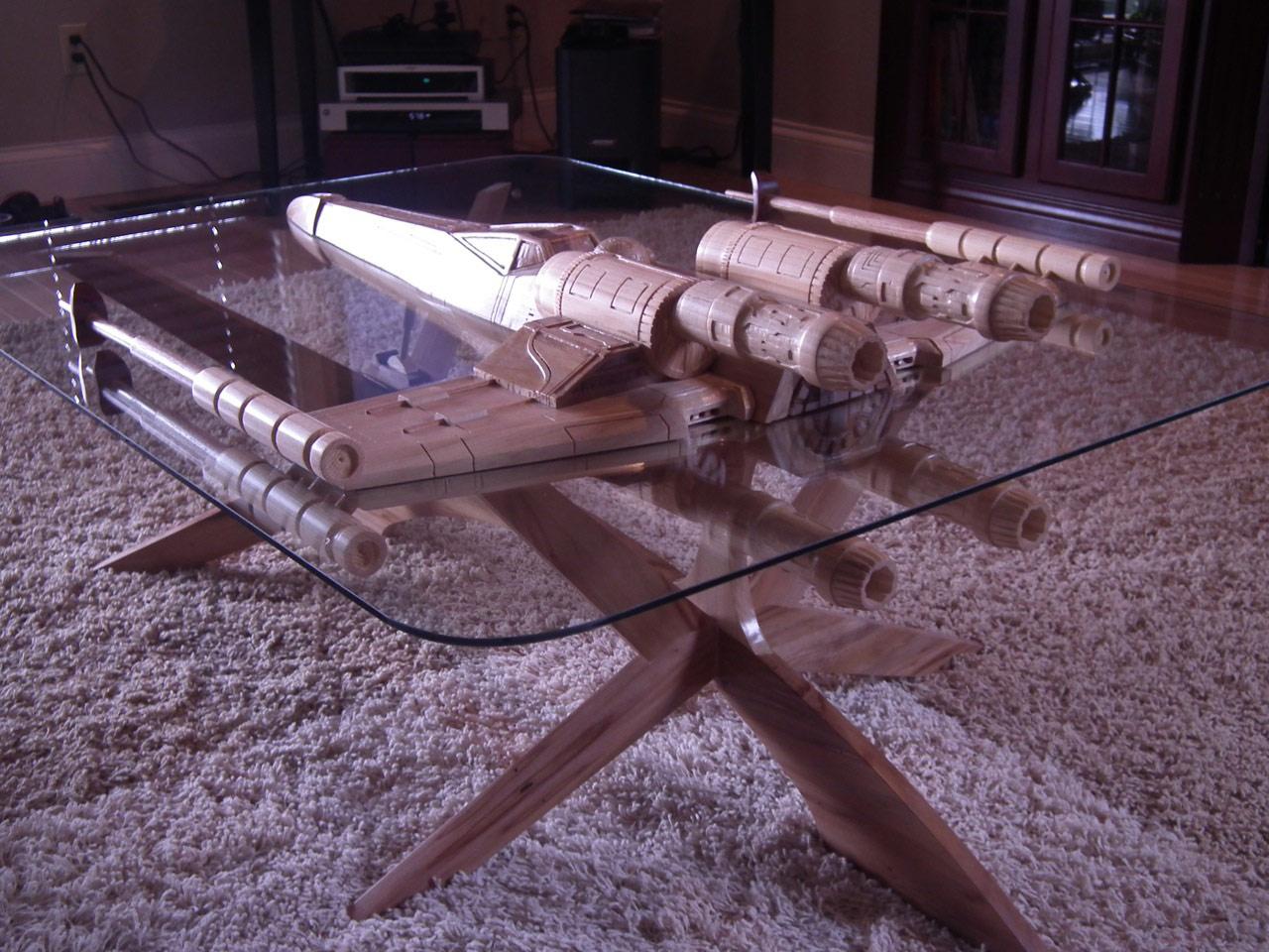 Star Wars XWing Coffee Table