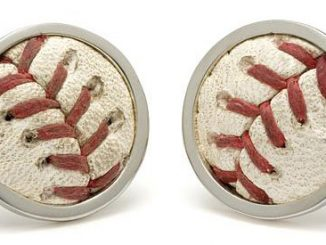 Baseball Stitches Cufflinks