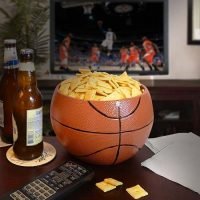 Basketball Ceramic Snack Bowl