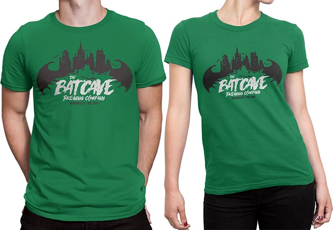 Batcave Brewing Company T-Shirts