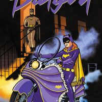 Batgirl 66 Purple Rain Art Print