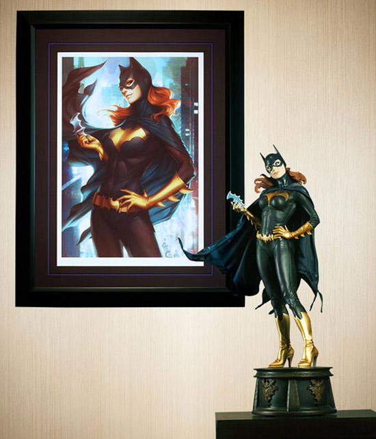 Batgirl Birds of Prey Premium Art Print and Premium Format Figure