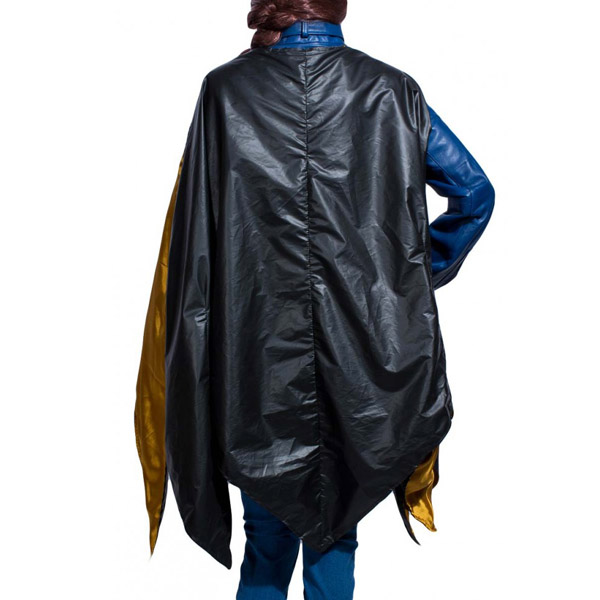 Batgirl Blue Jacket with Cape Back