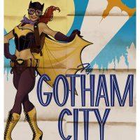 Batgirl DC Comics Bombshell Poster