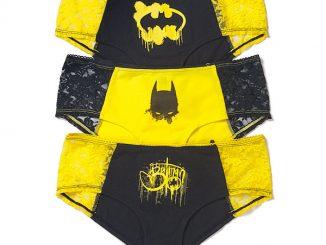 Batgirl Grafitti 3-Pack Panties