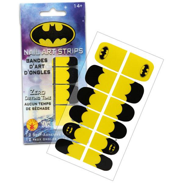 Batgirl Nail Art