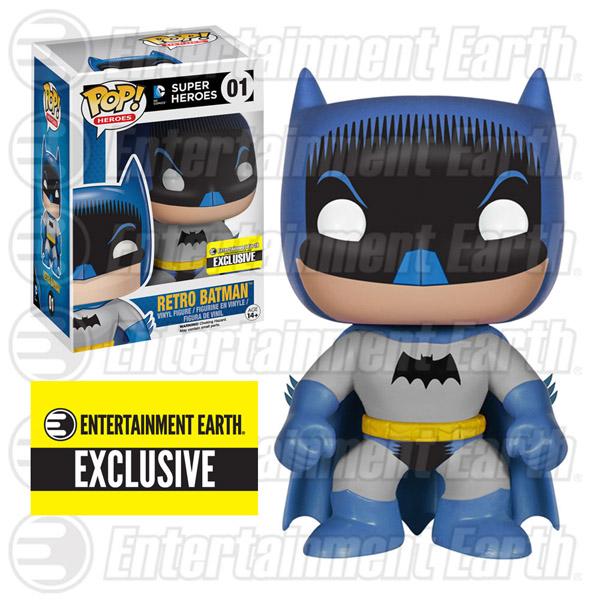 Batman 1950s Comic Pop Heroes Vinyl Figure