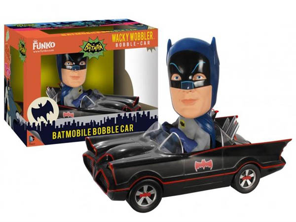 Batman 1966 Barris Batmobile Wacky Wobbler