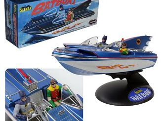 Batman 1966 TV Batboat Model Kit