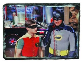 Batman 1966 TV Series Batcave Granix Art Plaque