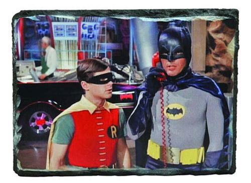Batman 1966 TV Series Batcave Granix Art Plaque