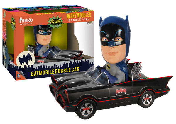 Batman 1966 TV Series Batmobile Bobble Head
