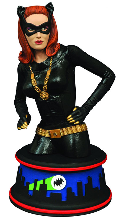Batman 1966 TV Series Catwoman Mini-Bust