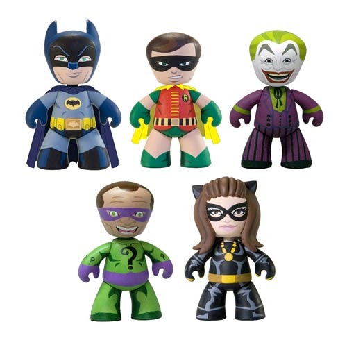 Batman 1966 TV Series Mini Mez-Itz Mini-Figure Box Set