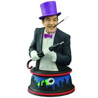 Batman 1966 TV Series Penguin Burgess Meredith Mini-Bust