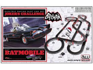 Batman 1966 TV Slot Car Race Track Set
