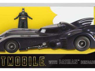 Batman 1989 Batmobile with Batman 3-Inch Bendable Figure