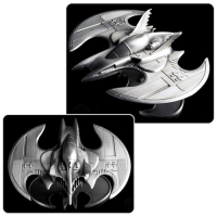 Batman 1989 Batwing Metal Vehicle Statue