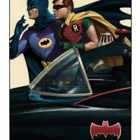 Batman 66 Art Print