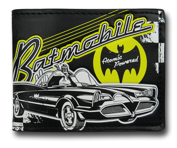 Batman 66 Batmobile Bi-Fold Wallet