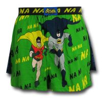 Batman 66 Running Duo Boxer Shorts