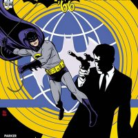 Batman 66 meets The Man from UNCLE Comic Book
