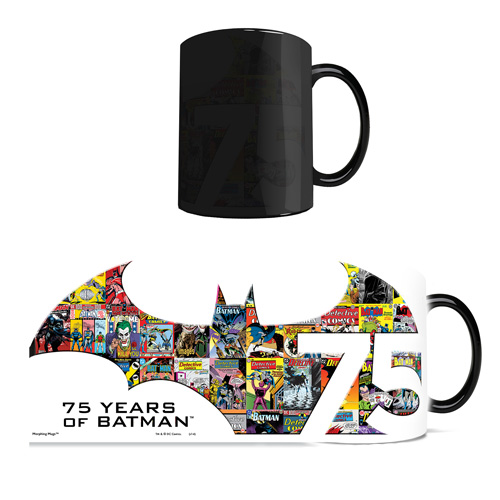 Batman 75th Anniversary DC Comics Justice League Morphing Mug