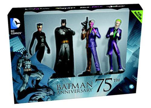 Batman 75th Anniversary Figurine Box Set