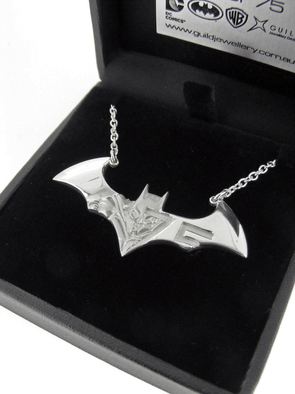 Batman 75th Anniversary Necklace