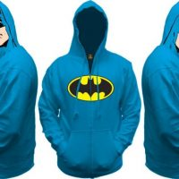 Batman All View Men's Zip Hooded Sweatshirt