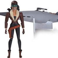 Batman Animated Series Roxy Rocket Deluxe Action Figure