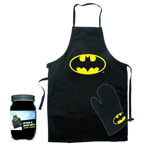 Batman Apron and Glove Set