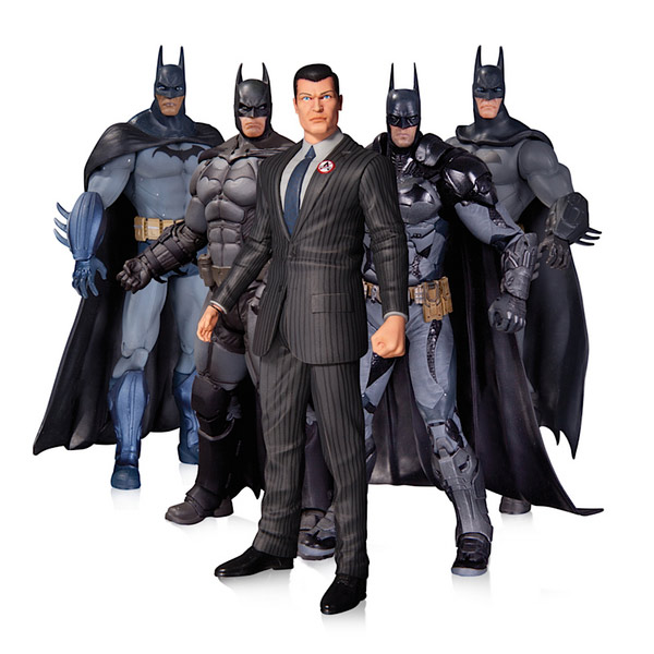 Batman Arkham Action Figure 5 Pack