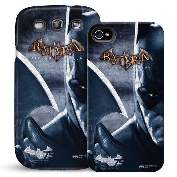 Batman Arkham Asylum 75th Anniversary Phone Case for iPhone and Galaxy