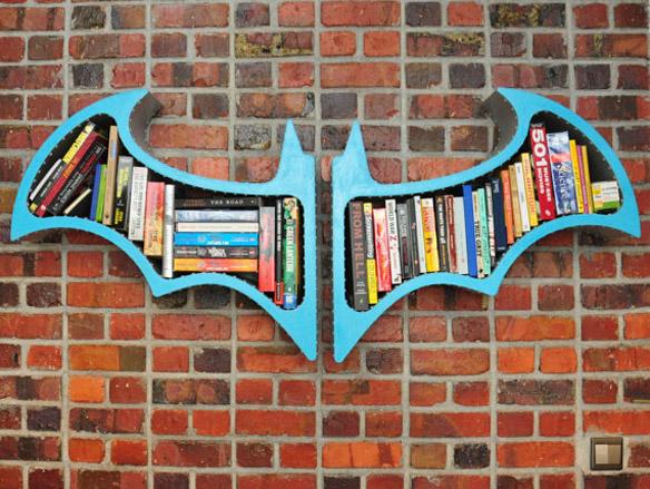 Batman Arkham Asylum Book Shelves
