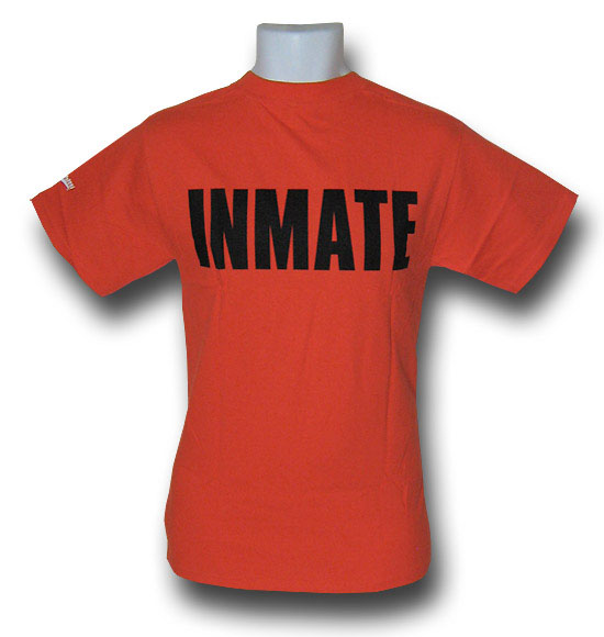 Batman Arkham Asylum Inmate Shirt