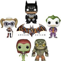 Batman Arkham Asylum Pop Vinyl Figures