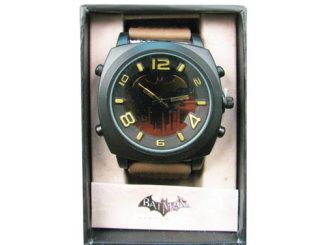 Batman Arkham City Brown Strap Watch