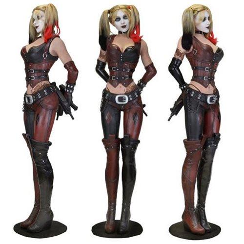 Batman Arkham City Harley Quinn Life Size Statue Foam