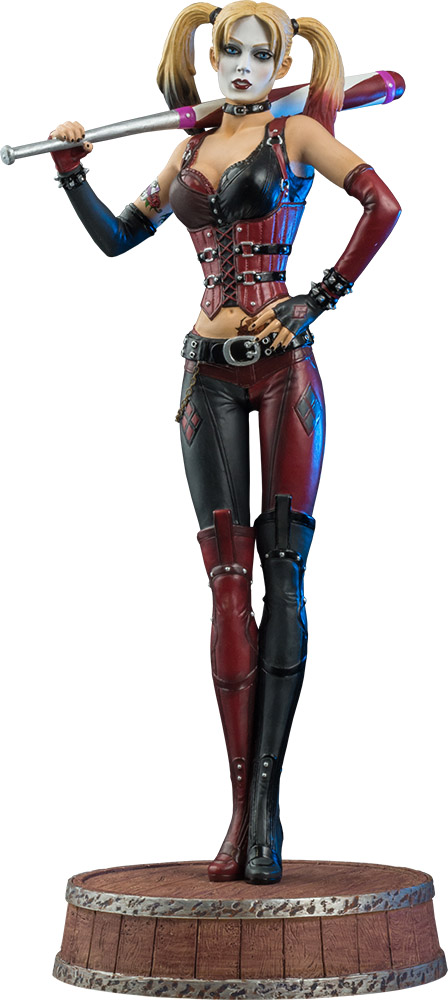 IKON COLLECTABLE HARLEY QUEEN Batman-Arkham-City-Harley-Quinn-Limited-Edition-1-6th-Scale-Statue