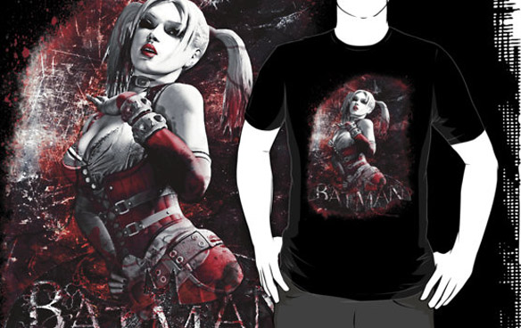 Batman Arkham City Harley Quinn Shirt