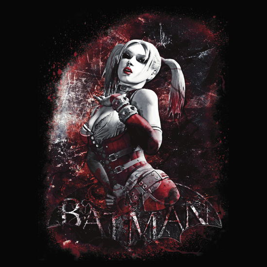 Batman Arkham City Harley Quinn T-Shirt