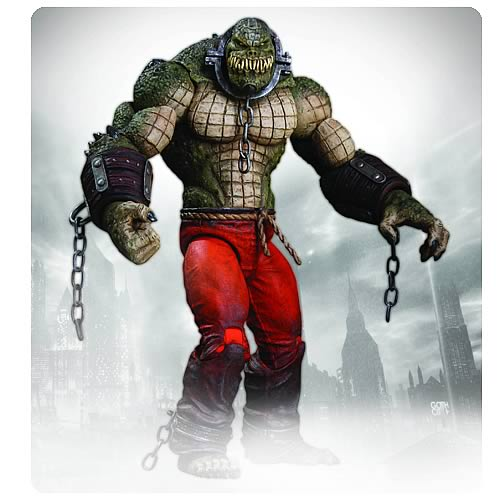 Batman Arkham City Killer Croc Deluxe Action Figure