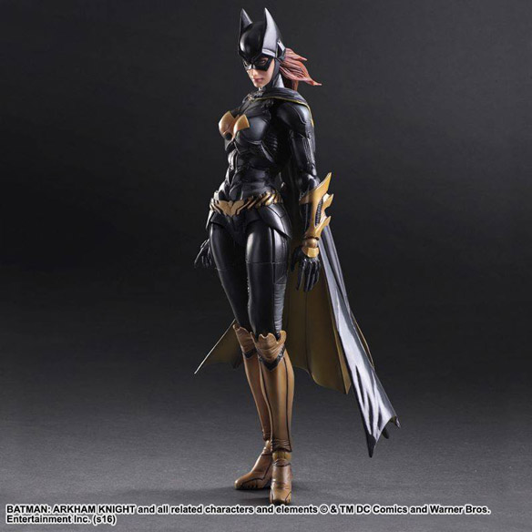 Batman Arkham Knight Batgirl Play Arts Kai Figure