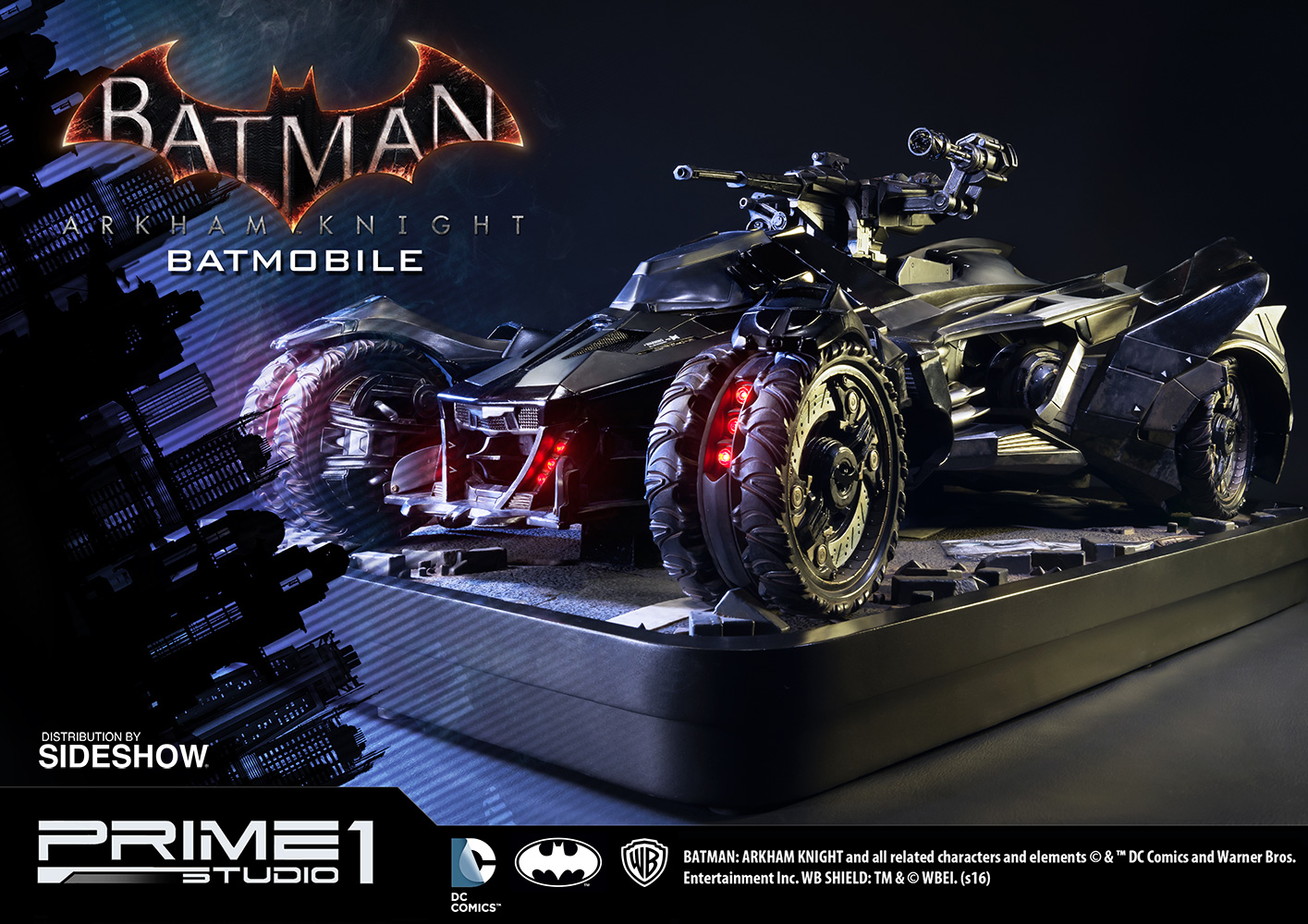 Batman: Arkham Knight Batmobile