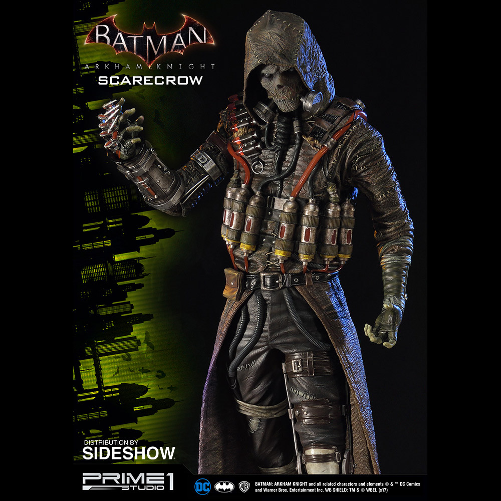 Batman Scarecrow Costume Arkham Knight